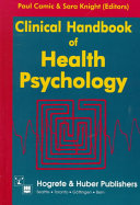 Clinical Handbook of Health Psychology Book PDF