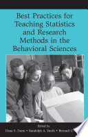 Best Practices In Teaching Statistics And Research Methods In The Behavioral Sciences Book PDF
