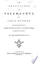 The Adventures of Telemachus  the Son of Ulysses  Translated from the French of Messire Fran  ois Salignac de La Mothe Fen  lon  Archbishop of Cambray  By John Hawkesworth  LL D