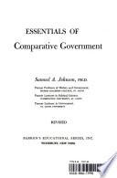 Essentials of Comparative Government