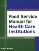 Pdf Food Service Manual for Health Care Institutions