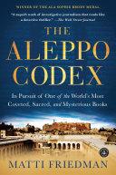 The Aleppo Codex Book PDF