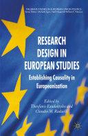 Pdf Research Design in European Studies Telecharger