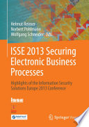 ISSE 2013 Securing Electronic Business Processes Book