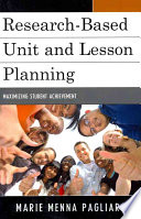 Research based Unit and Lesson Planning Book