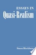Essays in Quasi Realism