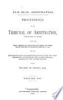 Proceedings of the Tribunal