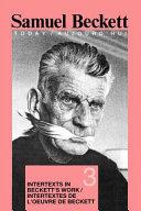 Pdf Intertextes de L'oeuvre de Beckett Telecharger
