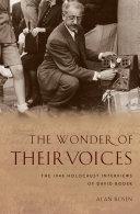 Pdf The Wonder of Their Voices