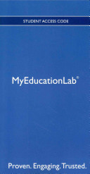 New Myeducationlab with Pearson Etext    Standalone Access Card    For Exceptional Lives