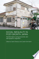 Social Inequality in Post Growth Japan