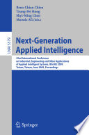 Next Generation Applied Intelligence
