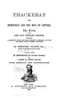 Thackeray the Humourist and the Man of Letters