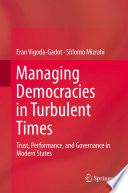 Managing Democracies in Turbulent Times Book PDF