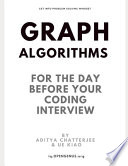 Graph Algorithms for the Day Before Your Coding Interview