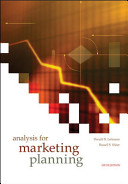 Cover of Analysis for Marketing Planning