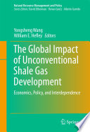 The Global Impact of Unconventional Shale Gas Development Book