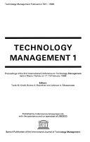 Technology Management 1 Book