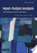 Input Output Analysis Book
