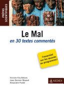 Pdf Le Mal en 30 textes commentés Telecharger