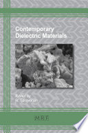 Contemporary Dielectric Materials