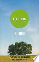 Key Terms In Logic Book PDF