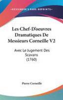 Les Chef-D'Oeuvres Dramatiques de Messieurs Corneille V2