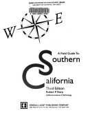 A Field Guide to Southern California Book