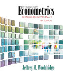 Pdf Introductory Econometrics: A Modern Approach Telecharger