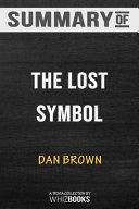 Summary of the Lost Symbol  Robert Langdon  Book