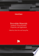 Perovskite Materials Book