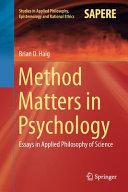 Method Matters In Psychology