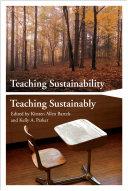 Teaching Sustainability   Teaching Sustainably