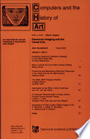 Electronic Imaging And The Visual Arts