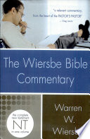 """""""The Wiersbe Bible Commentary: New Testament"""" by Warren W. Wiersbe"""