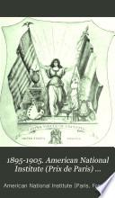 1895 1905 American National Institute Prix De Paris Paris France Founded By Matilda Smedley