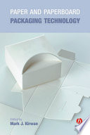 Paper And Paperboard Packaging Technology Book PDF