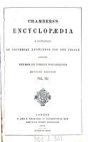Chambers's encyclopædia