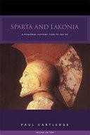 Pdf Sparta and Lakonia Telecharger