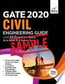 Free Sample Gate 2020 Civil Engineering Guide With 10 Practice Sets 6 In Book 4 Online 7th Edition