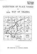 Gazetteer of Place Names on Map of Nigeria