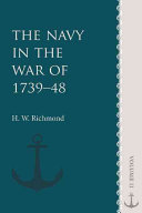 The Navy in the War of 1739 48