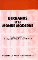 Bernanos et le monde moderne