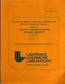 An Atlas of Unresolved Neutron Resonance Parameters Book