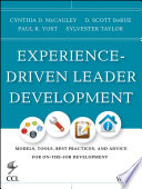 Experience Driven Leader Development