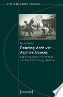 Dancing Archives - Archive Dances
