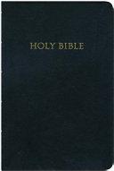 Holy Bible King James Version Giant Print Black