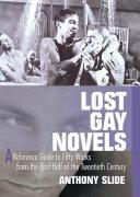 Lost Gay Novels Pdf/ePub eBook