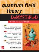 Quantum Field Theory Demystified [Pdf/ePub] eBook