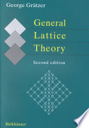 General Lattice Theory
